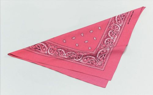 Cowgirl Bandana Pink American Wild West Cowboys & Indians Fancy Dress Accessory